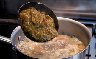 Тайский рыбный суп - фото шаг 12