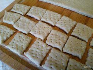 Хлебные крекеры с сыром - фото шаг 7
