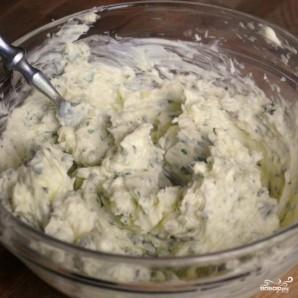 Чесночно-сырные гренки - фото шаг 7