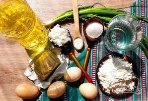 Пирожки с рисом и яйцом жареные - фото шаг 1