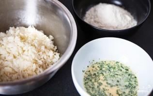 Рисовые оладьи - фото шаг 2
