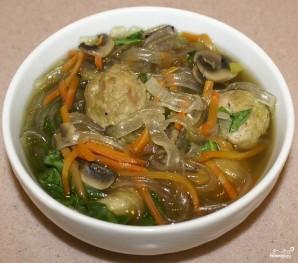 Лапша по-тайски со свининой  - фото шаг 6