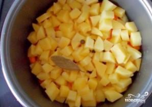 Картофель с овощами в мультиварке - фото шаг 3