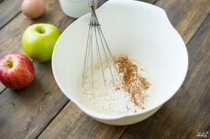 Открытый яблочный пирог - фото шаг 2