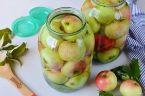 Яблоки, моченые на зиму - фото шаг 6