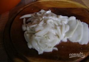 Салат для тарталеток - фото шаг 1