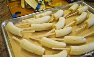 """Десерт """"Бананы в шоколаде"""" - фото шаг 1"""