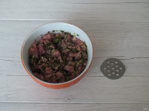 Фаршированная голень индейки в духовке - фото шаг 7