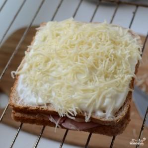 """Французские тосты """"Крок-месье"""" - фото шаг 7"""