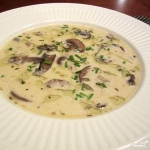 Сливочный грибной суп - фото шаг 10