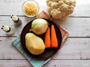 Суп из цветной капустой с вермишелью - фото шаг 1