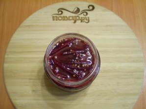 Маринованная цветная капуста со свеклой - фото шаг 6