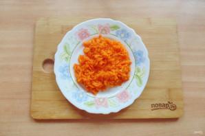 Салат с куриной печенью и маринованными огурцами - фото шаг 5