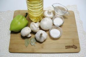 Грибы маринованные с перцем - фото шаг 1