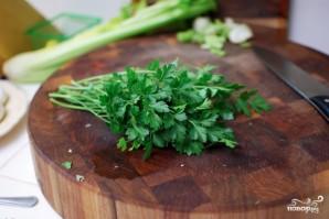 Салат с сельдереем и тунцом - фото шаг 5