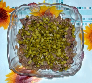 "Салат с печенью ""Ермак"" - фото шаг 3"