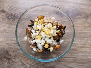 Салат с курицей и белыми грибами - фото шаг 8
