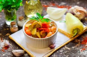 Лечо с помидорами и огурцами - фото шаг 10