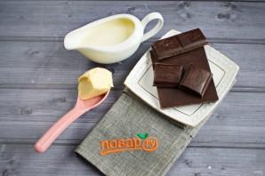 Шоколадный крем-ганаш для десертов - фото шаг 1