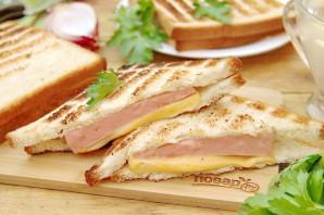 Бутерброды на гриле - фото шаг 7