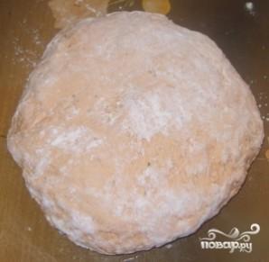 Пончики с чесноком - фото шаг 2