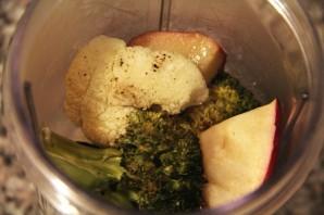 Пюре из брокколи и цветной капусты - фото шаг 3