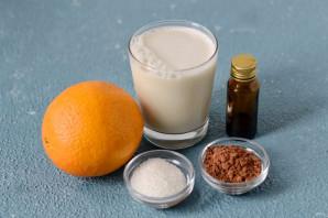 Апельсиновое какао - фото шаг 1