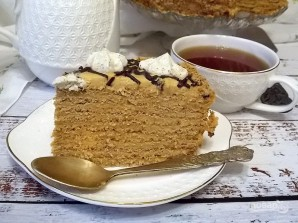 "Арахисовый торт ""Коровка"" - фото шаг 21"