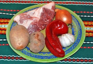 Перкельт из свинины - фото шаг 1