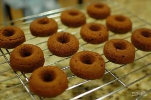 Шоколадные пончики в духовке - фото шаг 7