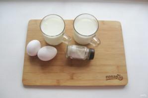 Домашний сыр из кефира и яиц - фото шаг 1