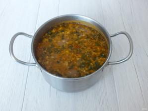Суп харчо с фрикадельками - фото шаг 12