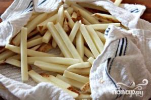 Хрустящий картофель-фри - фото шаг 2