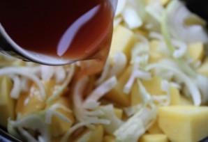 Телятина в мультиварке с картошкой - фото шаг 5