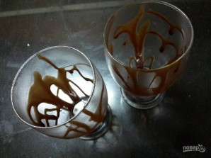 "Молочный коктейль ""Шоколадное манго"" - фото шаг 1"