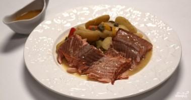 Копчение рыбы в духовке - фото шаг 12