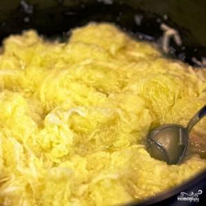 Кабачковые оладьи с козьим сыром - фото шаг 4