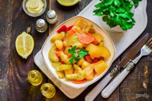 Овощное рагу с кабачками и перцем - фото шаг 8