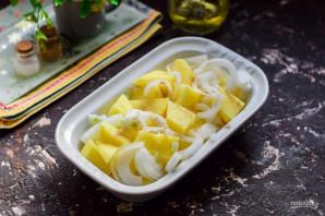Картошка с копченой грудинкой - фото шаг 4