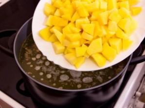Куриный суп с чечевицей - фото шаг 3