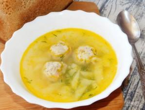 Суп с грибными фрикадельками - фото шаг 8