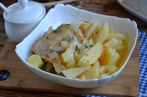 Тушеная утка с картошкой - фото шаг 7