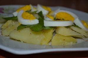 Сытный салат  - фото шаг 4