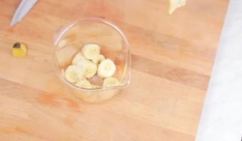 Кофейно-банановый смузи - фото шаг 1