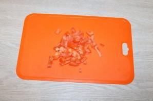 Салат с баклажанами и фасолью - фото шаг 7