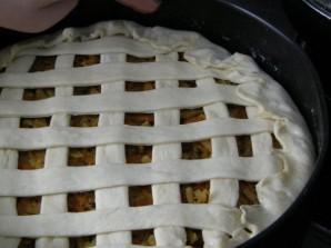 Вегетарианский пирог с капустой - фото шаг 8