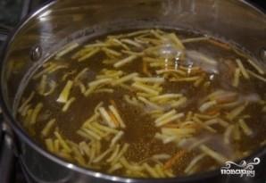 Суп с фрикадельками и брокколи - фото шаг 7