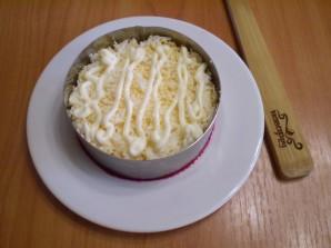 Слоеный салат со свеклой - фото шаг 3