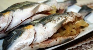 Рыба дорада - фото шаг 1