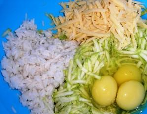 Запеканка из кабачков с рисом - фото шаг 3